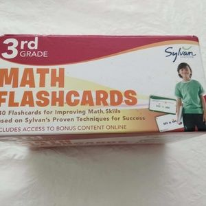Sylvan learning 3rd gr flash cards